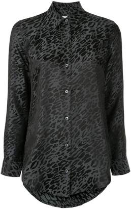 Equipment animal print shirt