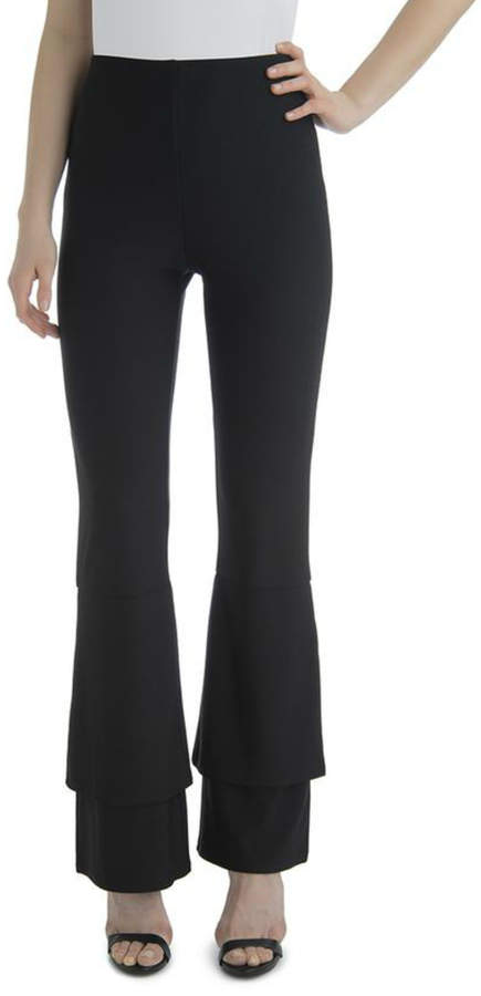 Tiered Hem Pull-on Pant