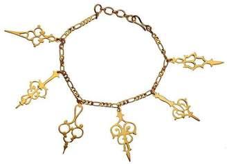 "Eina Ahluwalia Plated Bracelet ""Take The Time"""