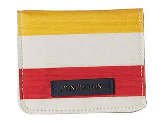 Pendleton Canopy Canvas Snap Wallet