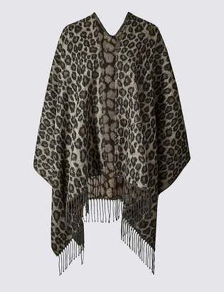 M&S CollectionMarks and Spencer Animal Print Wrap
