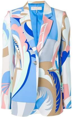 Emilio Pucci graphic print blazer