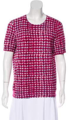 Tory Burch Printed Knit Top