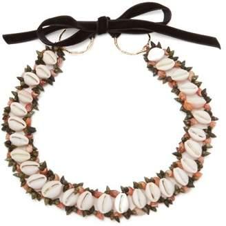 Heimat Atlantica - Sybile Shell Choker Necklace - Womens - Multi