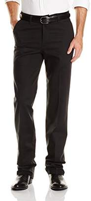 Wrangler Men's Riata Flat-Front Relaxed-Fit Casual Pant