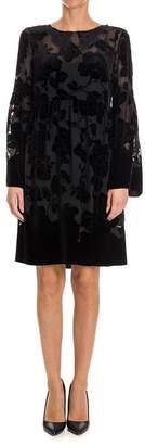 Blugirl Velvet Devore Dress
