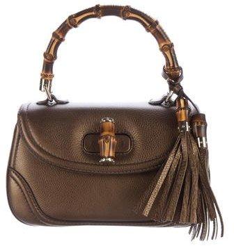 GucciGucci New Medium Bamboo Top Handle Bag