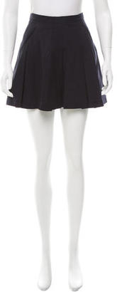 Boy. by Band of Outsiders Pleated Mini Skirt $75 thestylecure.com