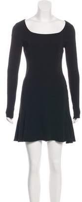 Rachel Zoe A-Line Scoop Neck Dress