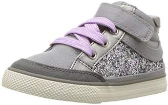Hanna Andersson Teo Girl's Glitter High Top Sneaker