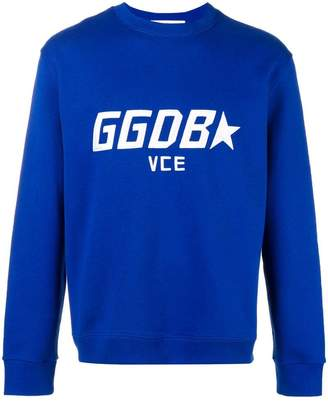 Golden Goose embroidered logo sweatshirt