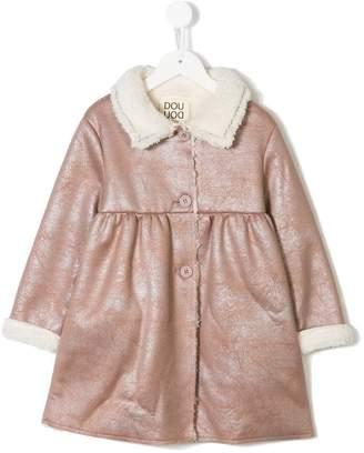 Douuod Kids Benton faux shearling coat