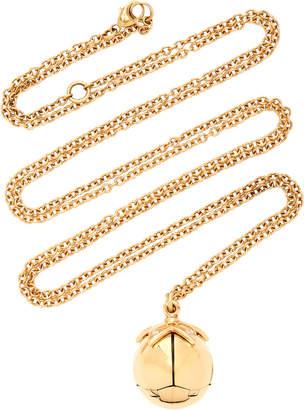 Santo by Zani 14K Gold Enamel And Diamond Necklace