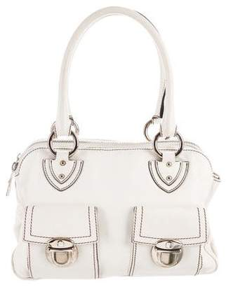 Marc Jacobs White Leather Satchel