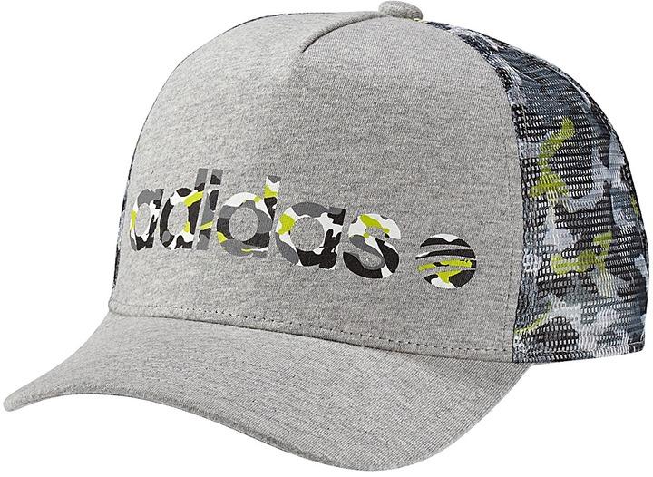 adidas Allover Print Trucker Hat
