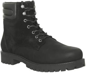 Ask the Missus Ion Lace Boots Black Nubuck