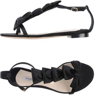 Olgana Paris Toe strap sandals