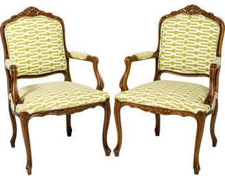 Pair of Fauteuil Armchairs