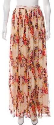Needle & Thread Printed Maxi Skirt