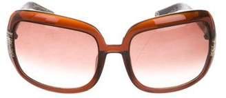 Oscar de la Renta Gradient Square Sunglasses