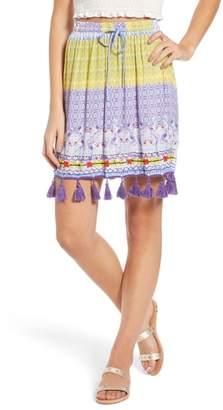 Raga Tropic Bird Tassel Trim Skirt