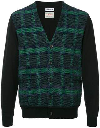 Coohem checked tweed cardigan