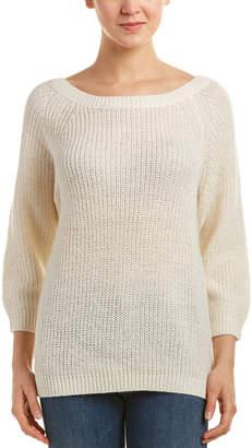 Splendid Glitter-Accent Alpaca & Wool-Blend Sweater