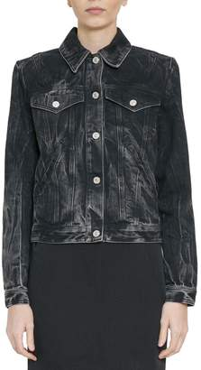 Givenchy Cotton Denim Studded Jacket