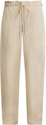 Vince Wide-leg tie-waist trousers