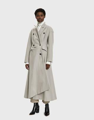 Walk Of Shame Cutout Wool Coat
