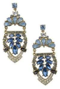 Badgley Mischka Belle by Blue Sky Statement Drop Earrings
