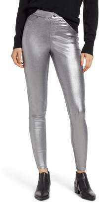 Hue Iridescent Denim Leggings