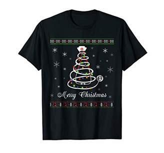 Womens Stethoscope Christmas Tree Merry Christmas Nurse Gift
