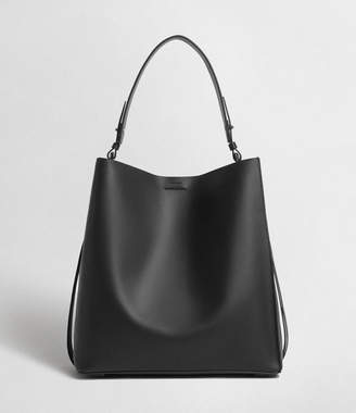AllSaints Voltaire Leather North South Tote