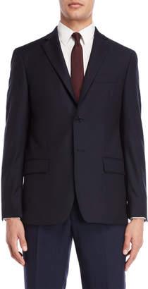 John Varvatos Navy Textured Sport Coat
