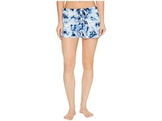 PJ Salvage Blue Batik Shorts Women's Shorts