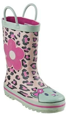 Laura Ashley Leopard Print Rain Boot