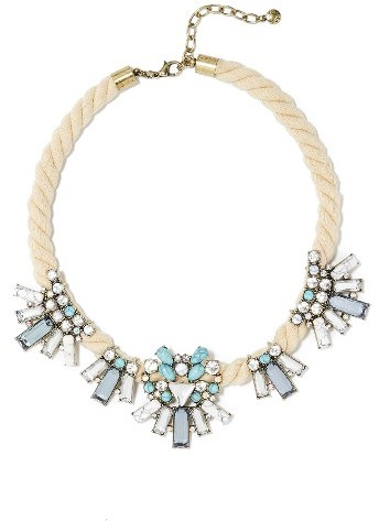 Women's Baublebar Corde Bib Necklace