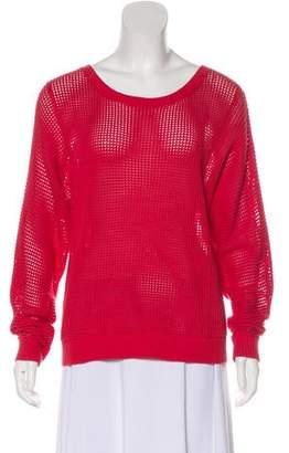White + Warren Scoop Neck Medium-Weight Sweater