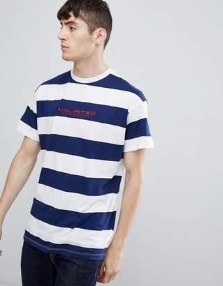 New Look t-shirt in blue stripe