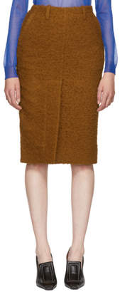 Marni Orange Casentino Skirt