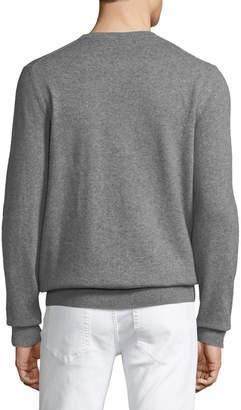 Neiman Marcus Men's Cashmere Crewneck Sweater