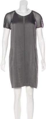 Reiss Satin Mini Dress