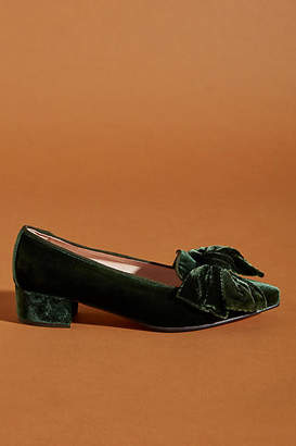 Bisue Ballerinas Velvet Loafers