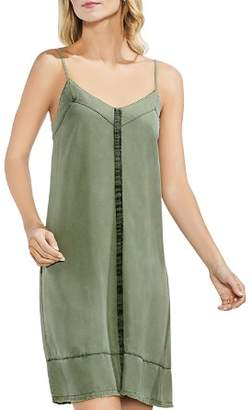 Vince Camuto Twill Slip Dress