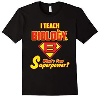 2 Sided Superhero: I Teach Biology What's Your Superpower?