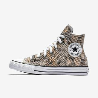 Converse Chuck Taylor All Star Fashion Snake Leather High Top Women's Shoe