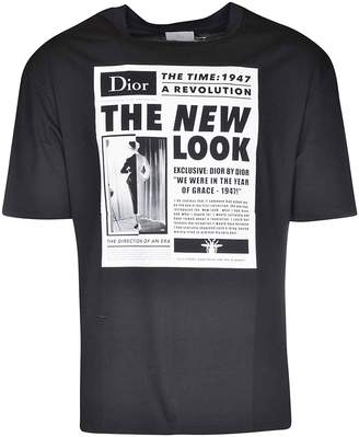 Christian Dior New Look Print T-shirt