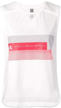 adidas by Stella McCartney mesh panel tank top