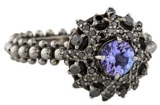 Carla Amorim 18K Tanzanite & Diamond Bachiana Ring
